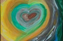Fließendes Herz