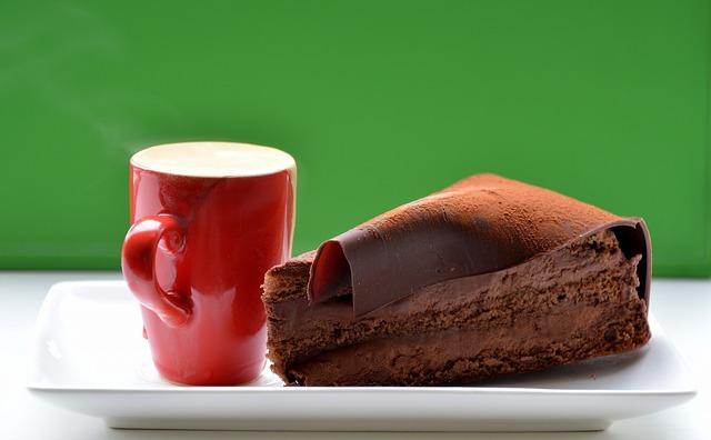 Freundschaft Kaffee Torte Perfektion